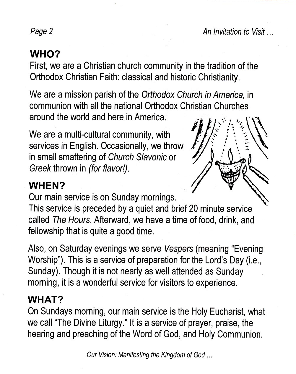 St mary magdalene orthodox church invitation to worship members stopboris Choice Image